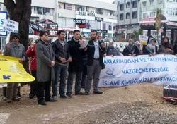 Antalya'dan Libya'ya Destek, 28 Şubat Zihniyetine Öfke!