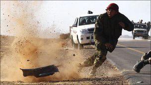 Libyada Kaddafi Güçlerinden Karşı Saldırılar