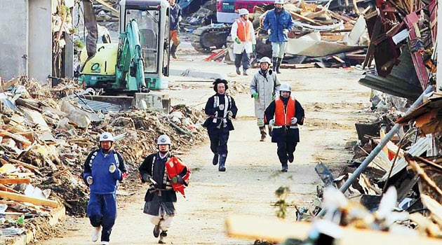 Japonya'da 30 Bin Kişi Kayıp