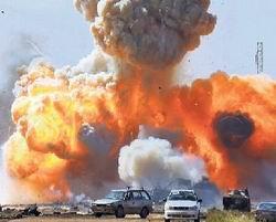 Libya Bombalanıyor...