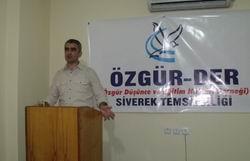 """Siverek'te """"Ilımlı İslam Tartışmaları"""" Semineri"""