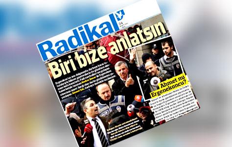 Polis Radikal Gazetesinde Arama Yapıyor