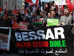 Suriye Yönetimi İstanbul'da Protesto Edildi!