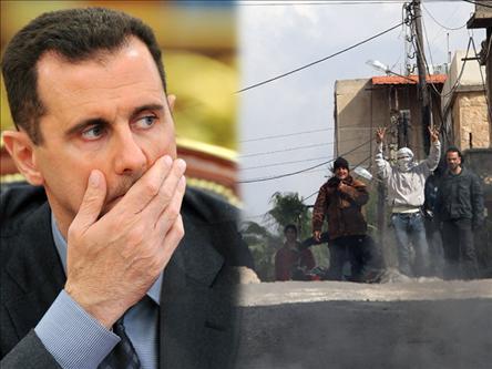 Beşşar Esad, Sadece Konuşuyor