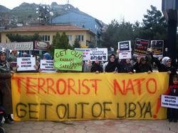Tokad: Katil NATO, Libya'dan Defol!