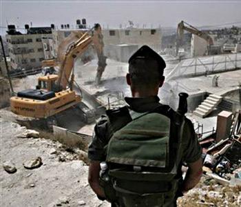 İsrail Yıkımlara Yeniden Başlıyor