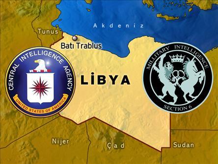 CIA ve MI6 Libyada...