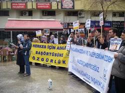 Antalya Özgür-Der: Direniş Kazanacak