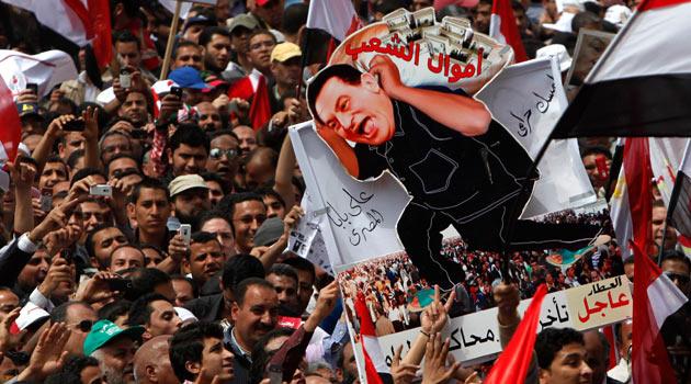 Tahrir Meydanı: Mübarek Yargılansın!