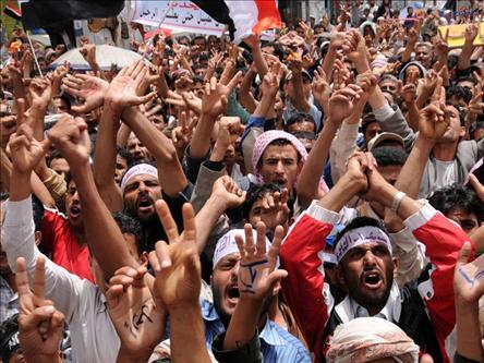 Yemende Gösteriler Devam Ediyor