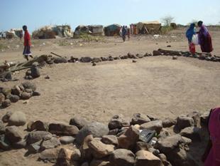 Cibutide Taşlardan Bir Cami...
