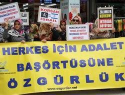 Antalya Özgür-Der: Başörtüsü Aksesuar Değil!