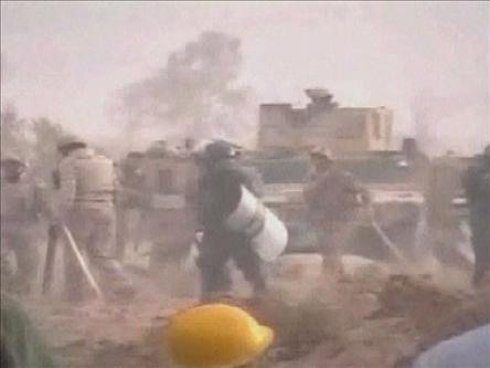Iraktaki Kanlı Kamp Baskınının Görüntüleri