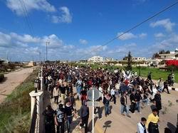 Şam'da Varoşlar Ayaklandı