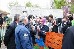 Trakya Üniversitesi'ndeki Yasağa Protesto