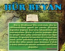 Bitlis Hür Beyan Dergisi'nin 2. Sayısı Çıktı!