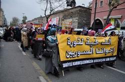 İstanbul'dan Suriye Direnişine Destek Yürüyüşü