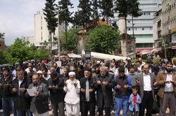 Adanalı Müslümanlardan Direnişe Destek