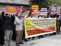 Bursadan Suriye İçin Duyarlılık Çağrısı