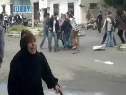 Suriyeli Kadın Göğsünü Kurşunlara Siper Etti
