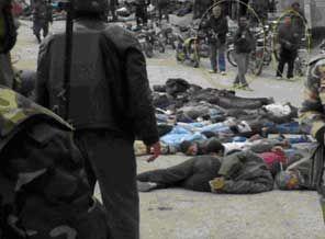 Suriye Ordusu Halka Topçu Ateşi İle Saldırdı