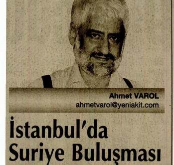 İstanbulda Suriye Buluşması