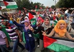 İsrail'i Protesto Yürüyüşüne Suriye Engeli