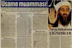 Usame Muamması!
