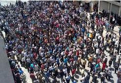 Halepte Öğrenciler Sokağa Döküldü