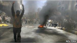 Yemende Muhalifler Meydanlarda