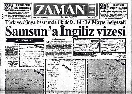 '19 Nisan 1919da Trabzona Çıktım'