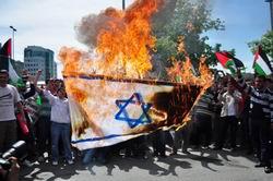 İşgalin Yıldönümünde İsrail, Leventte Protesto Edildi