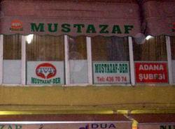 Bu Kez Mustazaf-Der Adana Şubesine Saldırı