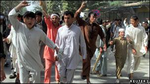 Afganistanda NATO Protestosu Devam Ediyor