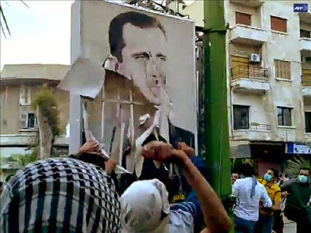 Humus Kentinde 8 Kişi Öldürüldü (Video)