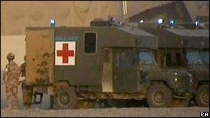 Kabilde Askeri Hastaneye Saldırı