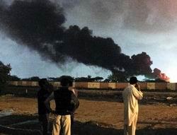Taliban'dan Donanma Üssüne Baskın