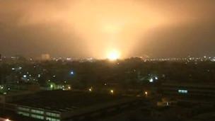 NATO Uçakları Trablusu Yarım Saat Bombaladı