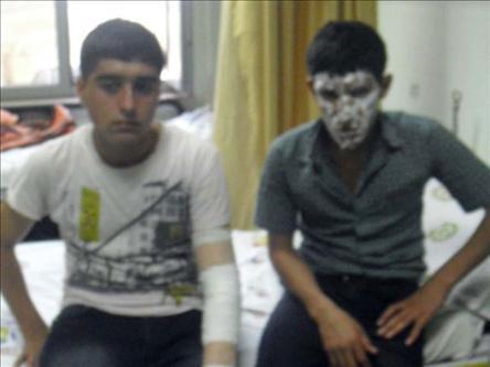 Cizre'de Öğrenci Yurdunu Yakmaya Kalkıştılar!