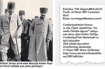 M. Kemal ve F. Çakmak, Vahdettini İşte Böyle Savunmuşlardı