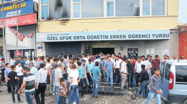 Özgür-Der, Cizredeki Yurt Saldırısını Kınadı