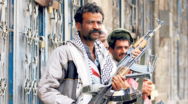 Yemende Zincibar Kenti Muhaletin Elinde