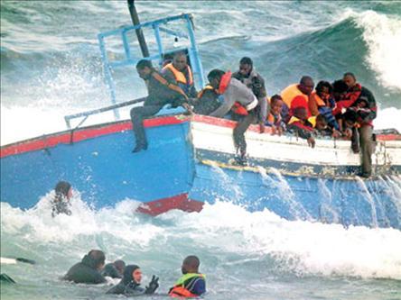 Tunus Açıklarında 200 Mülteci Kayıp