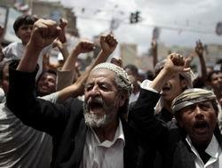 Yemen'de Muhaliflerden Cuma Gösterisi