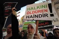 Hama Katliamı Protesto Edildi