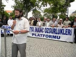 Konya'da 195. Özgürlük Eylemi