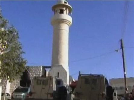 Batı Şeriada Cami Kundaklandı