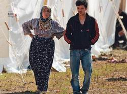 Suriye Sınırında Beşinci Kamp