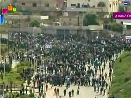 Suriyede Baas Zulmü Sürüyor