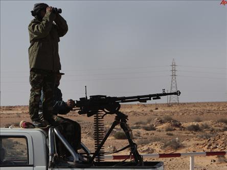45 Libya Askeri ile 8 Muhalif Öldü